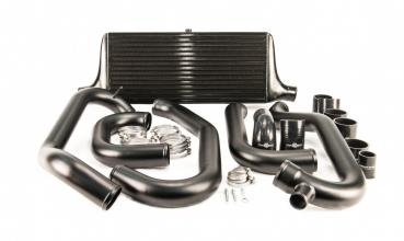 Process West Black Front Mount Intercooler Kit - GC8 97-00