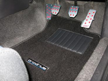 Prodrive Floor Mat Set Black